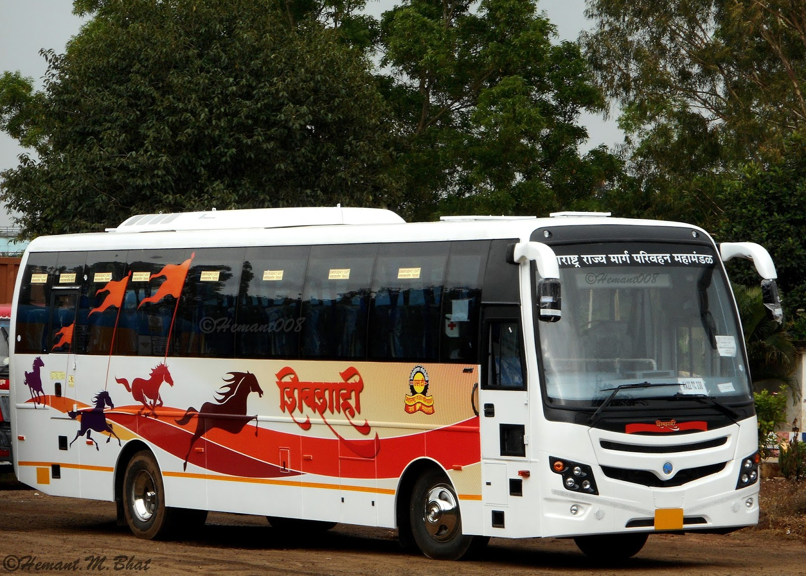 Air Conditioned Shivshahi Bus Services
